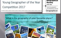 Young Geographer of the Year Competition